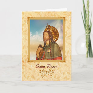 Happy feast day cards zazzle nz saint rocco happy feast day greeting card m4hsunfo
