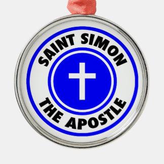 Saint Simon the Apostle Christmas Ornament