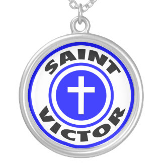Saint Victor Personalized Necklace