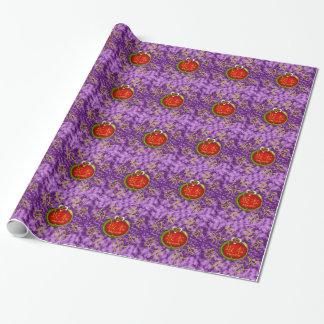Sakamoto Monogram Dragon Wrapping Paper