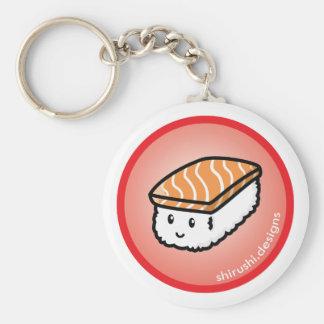 Sake Sushi Basic Round Button Key Ring