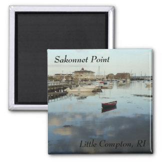 Sakonnet Point, Little Compton, RI Square Magnet