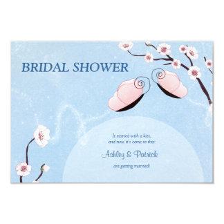 Sakura and Butterflies Bridal Shower Invitation