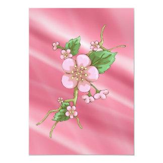 Sakura Blossoms 13 Cm X 18 Cm Invitation Card