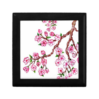Sakura Branch Painting 4 Gift Box