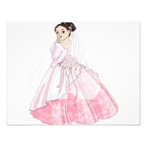 Sakura Bride Invites