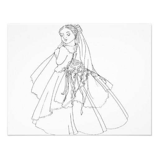 Sakura Bride Invitation