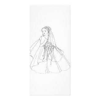 Sakura Bride Personalized Rack Card