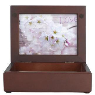 Sakura Cherry Blossom Keepsake Box