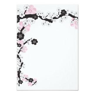 "Sakura Invitation 5"" X 7"" Invitation Card"