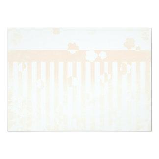 Sakura Stripes 5x7 Paper Invitation Card