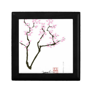 sakura with pink goldfish, tony fernandes gift box