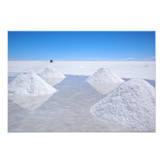 Salar de Uyuni salt flats photo print