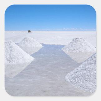 Salar de Uyuni salt flats photo sticker