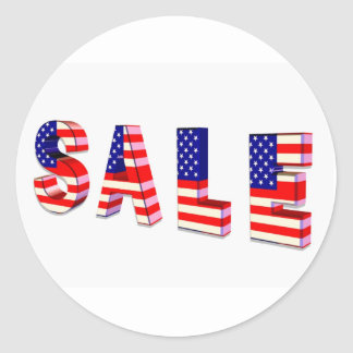 Sale Patriotic Stickers
