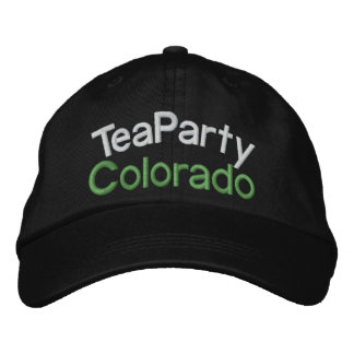 SALE ! Your Tea Party-Taxed to the MAX- by SRF Embroidered Hat