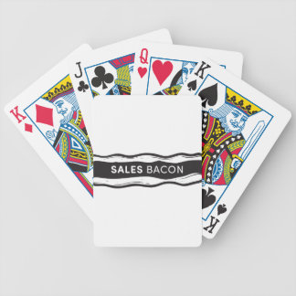 Sales Bacon Bicycle Playing Cards