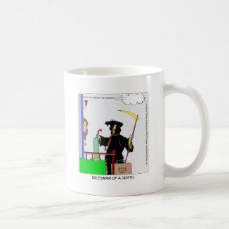 Salesman Of A Death Funny Gifts Cards Tees & Mugs Coffee Mug
