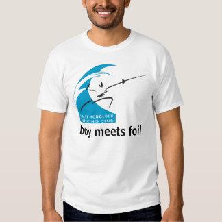 Salle Honolulu: boy meets foil Tshirts