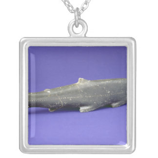 Salmon, from Cape Dorset Silver Plated Necklace