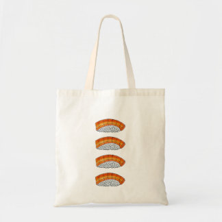 Salmon Nigiri Japanese Sushi Food Rice Tote Bag