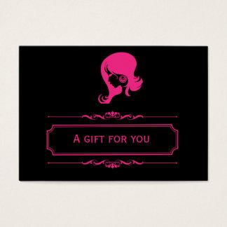Salon Gift Certificate (Deep Pink)