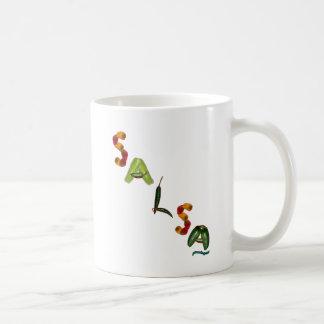Salsa Chili Peppers Coffee Mug