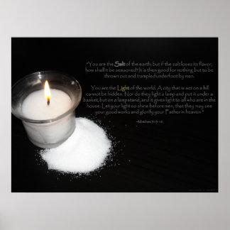 Salt and Light Scripture Print