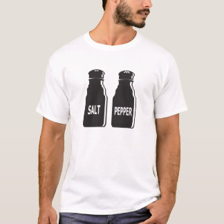 Salt and Pepper Bottle symbol T-shirt