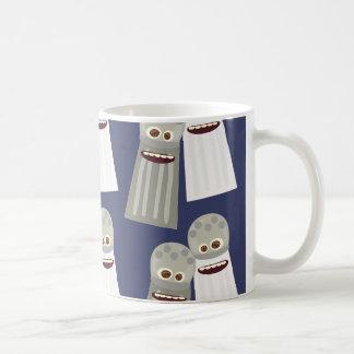 Salt and Pepper Cute Pattern Basic White Mug
