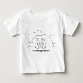 Salt and Pepper Forever Baby T-Shirt