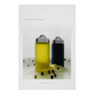 salt and pepper poster