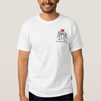 Salt and Pepper Shakers Valentine Tshirt