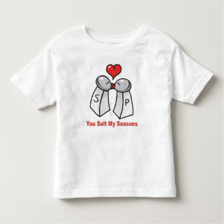 Salt and Pepper Shakers Valentine Shirts