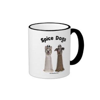 Salt and Pepper Spice Dogs Ringer Mug