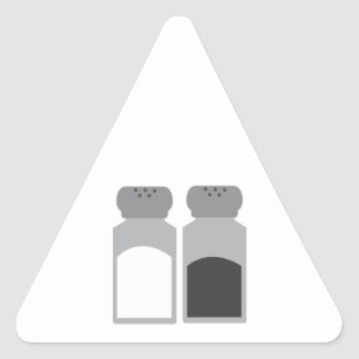 Salt And Pepper Triangle Sticker