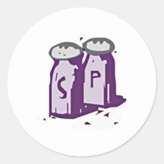 Salt and Pepper Sticker