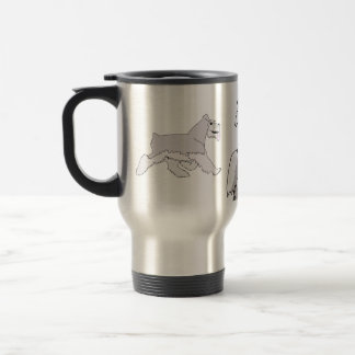 Salt and Pepper travel Cup Stainless Steel Travel Mug
