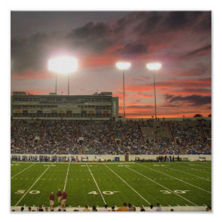 Salt Bowl Sunset 2006-2007 Poster