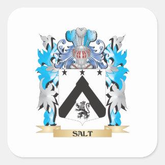 Salt Coat of Arms - Family Crest Square Sticker
