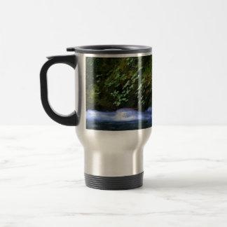 Salt Creek at Blue Pool Artwork Stainless Steel Travel Mug