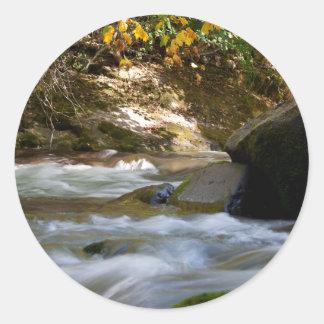 Salt Creek Autumn Round Sticker