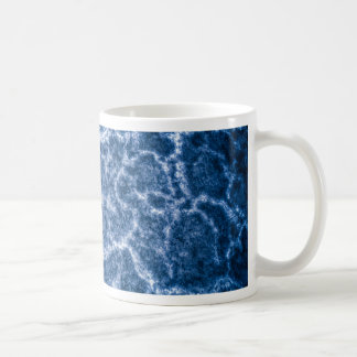 Salt death valley texture basic white mug