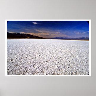 Salt Flats Poster