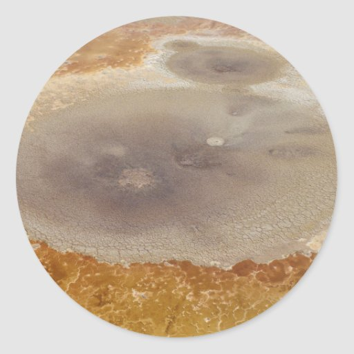 Salt formations on the Dead Sea surface Sticker
