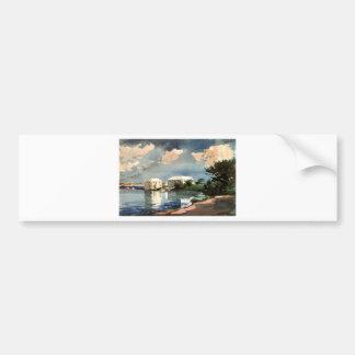 Salt Kettle, Bermuda by Winslow Homer Bumper Sticker