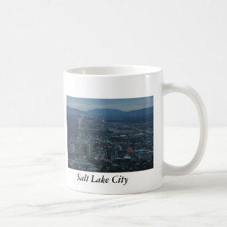 Salt Lake City Basic White Mug