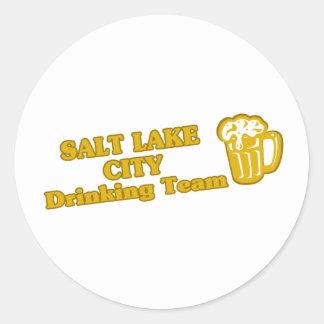 Salt Lake City Drinking Team tee shirts Sticker