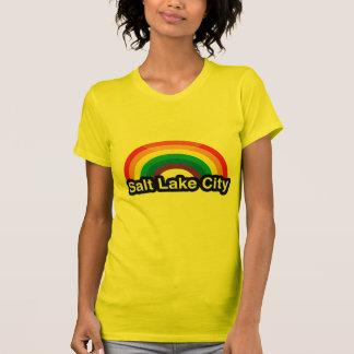 SALT LAKE CITY LGBT PRIDE RAINBOW TEE SHIRT