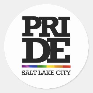 SALT LAKE CITY PRIDE -.png Stickers